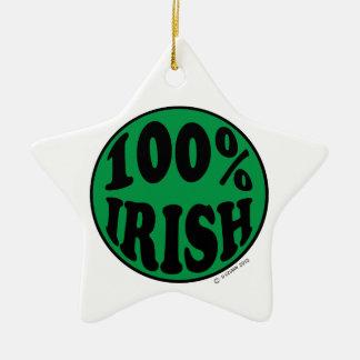 I'm 100 Irish Christmas Tree Ornaments