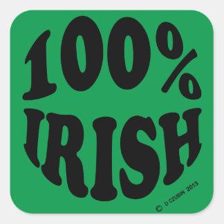 I'm 100% Irish Sticker