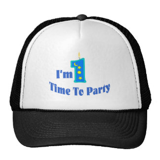 I'm 1 Time To Party.(blue) Cap