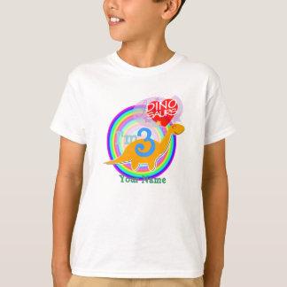 I'm 3 - 3rd Birthday Party Dino T-Shirt