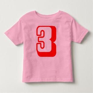 I'm 3 years old! Tee shirt