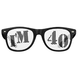 I'm 40 - 40th Birthday Party Glasses Gag Gift