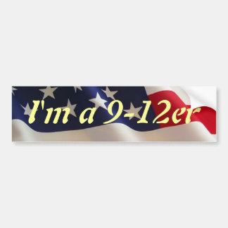 I'm a 9-12er bumper sticker