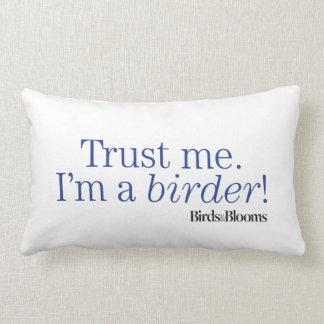 I'm a Birder Cushion