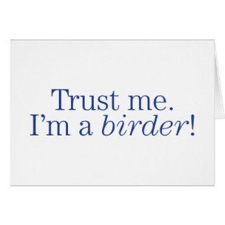 I'm a Birder Note Card