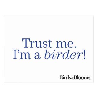 I'm a Birder Postcard