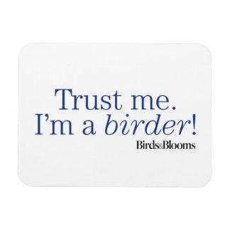 I'm a Birder Rectangular Photo Magnet