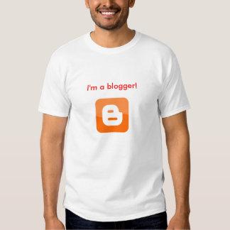 I'm a blogger! tshirt
