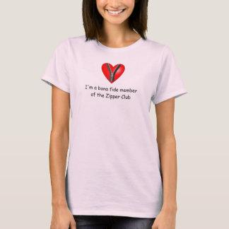 I'm a bona fide member of the Zipper Club T-Shirt