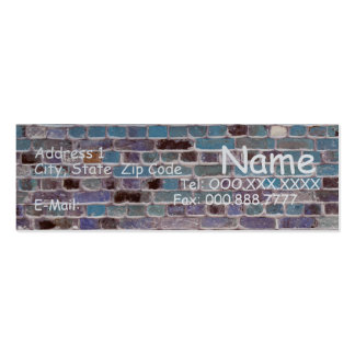 I'm A Brick House...... Pack Of Skinny Business Cards