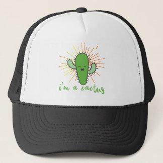 i'm a cactus trucker hat