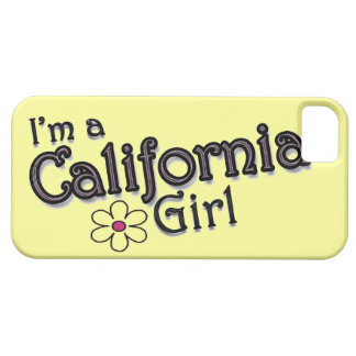 I'm a California Girl, Flower, Yellow iPhone Cover
