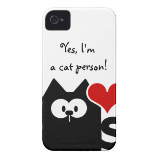 Im a cat person Blackberry Bold Case