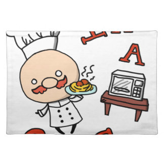 I'm a chef! placemat
