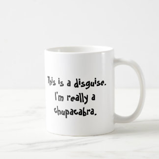 I'm a chupacabra coffee mug