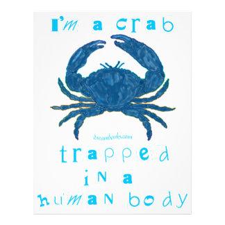 I'm a Crab 21.5 Cm X 28 Cm Flyer