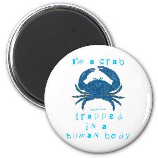 I'm a Crab Magnets