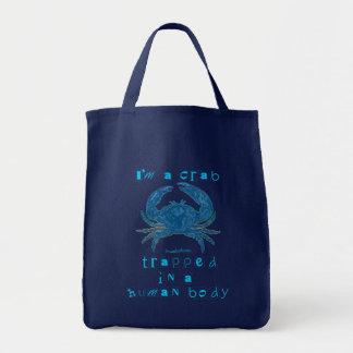 I'm a Crab Tote Bags