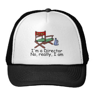 Im a Director No Really Im Trucker Hat