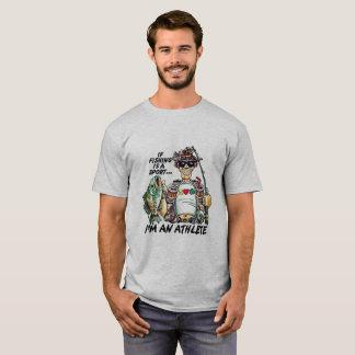 I'm A Fishing Athlete T-Shirt