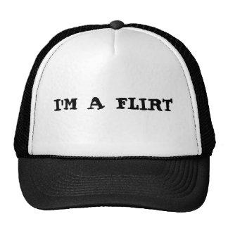 I'M A FLIRT TRUCKER HAT