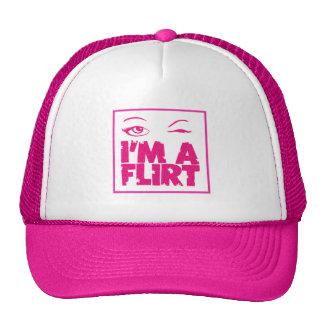 I'M A FLIRT MESH HATS