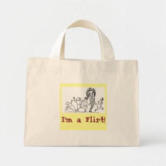 I'm A Flirt Canvas Bags