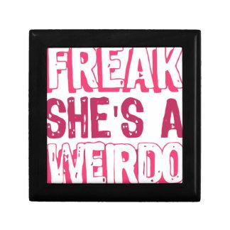 i'm a FREAK she's a WEIRDO .. Gift Box