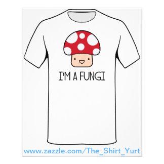 I'm a Fungi Fun Guy Mushroom 11.5 Cm X 14 Cm Flyer