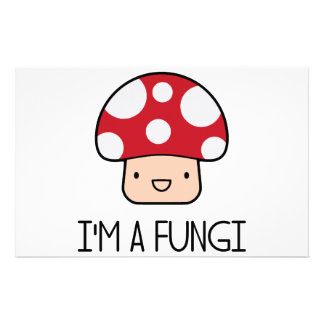 I'm a Fungi Fun Guy Mushroom Customised Stationery