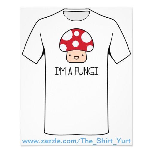 I'm a Fungi Fun Guy Mushroom Flyers