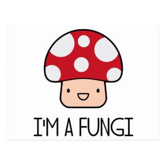 I'm a Fungi Fun Guy Mushroom Postcard