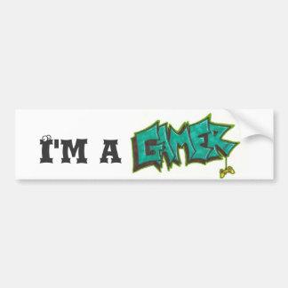 I'm a Gamer Bumper Sticker