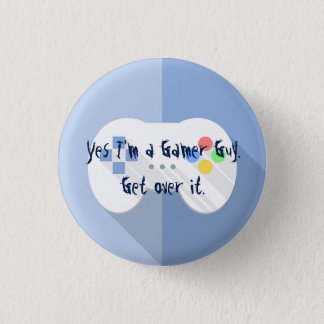 I'm A Gamer Guy Pin