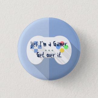 I'm A Gamer Pin
