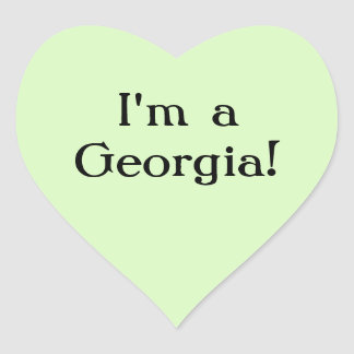 I'm a Georgia sticker
