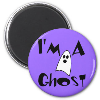I'm A Ghost Costume Magnet
