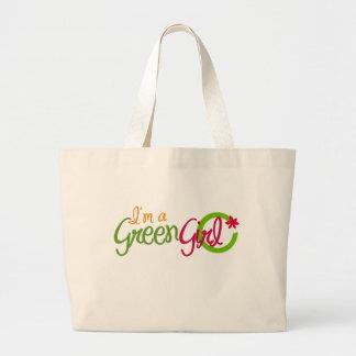 I'm a Green Girl Reusable Bag