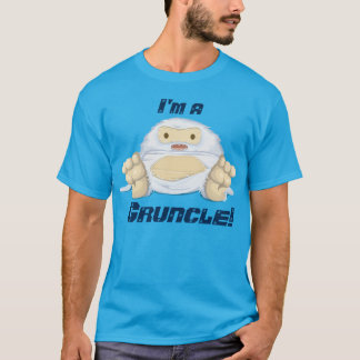 """""""I'm a  Gruncle!"""" with a cute monster T-Shirt"""