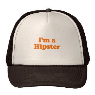I'm a Hipster Costume Mesh Hats