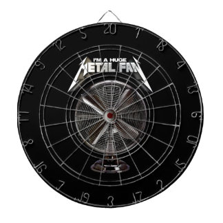 I'm a Huge Metal Fan - Pedestal Fan Dartboard