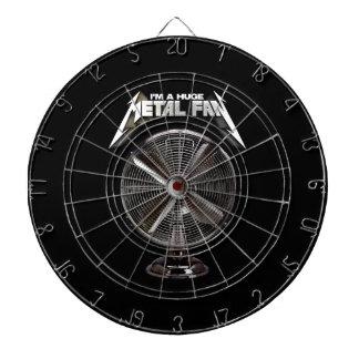 I'm a Huge Metal Fan - Pedestal Fan Dart Boards