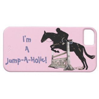 I'm a Jump-A-Holic! Horse iPhone 5 Case