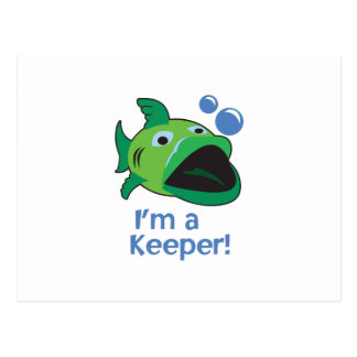 IM A KEEPER POSTCARD