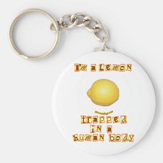 I'm a Lemon Keychain