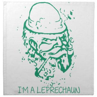 Im A Leprechaun Napkin