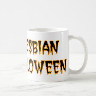 I'm A Lesbian For Halloween Coffee Mugs