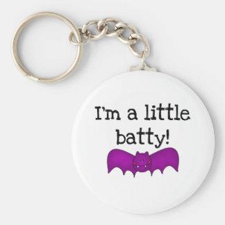 I'm a Little Batty Basic Round Button Key Ring
