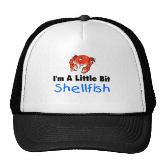 I'm A Little Bit Shellfish Mesh Hats