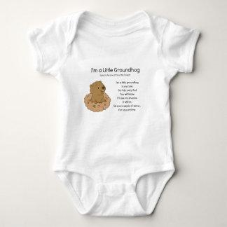 I'm a Little Groundhog Baby Bodysuit